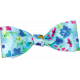 One Stop Bunting Shop- Blue Floral Bow