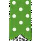 One Stop Bunting Shop- Green Polka Dot Folded Ribbon