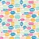 Hello Multi Language Speech Bubble Paper