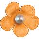Hello Tiny Orange Flower