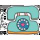 Hello Telephone Doodle