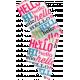 Hello- Word Tape 2