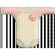 Oh Baby, Baby- Doodled Pink Onsie