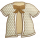 Oh Baby, Baby- Doodled Dressing Gown