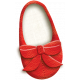 Oh Baby, Baby- Doodled Left Red Shoe