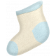 Oh Baby, Baby- Doodled Blue Sock