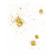 Oh Baby, Baby- Yellow Glitter Splat