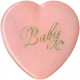 Oh Baby, Baby- Vintage Heart Buton 1
