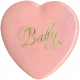 Oh Baby, Baby- Vintage Heart Buton 2