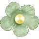 Oh Baby, Baby- June 2014 Blog Train Mini- Green Flower