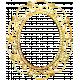 Many Thanks- Gold Ornate Frame