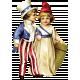 Independence- Vintage Patriotic Kids
