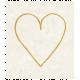 Sunshine & Lemons Mini - Heart Word Art
