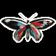 Summer Fields - Butterfly Sticker