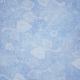 Pond Life - Light Blue Floral Paper