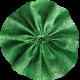 Pond Life- Green Fabric Flower