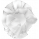 Pond Life- White Fabric Flower 3
