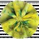 Pond Life- Yellow Fabric Flower 2