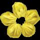 Pond Life- Yellow Fabric Flower 3