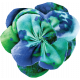 Pond Life- Blue-Green Fabric Flower