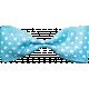 Garden Party- Blue Bow
