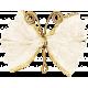 Garden Party- Cream Wire Butterfly
