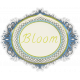 Garden Party- August 2014 Blog Train- Bloom Sticker