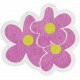 Garden Party- August 2014 Blog Train- Purple Flowers
