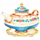 Garden Party- August 2014 Blog Train- Teapot