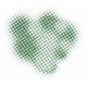 Color Basics Scattered Dots 01 Glitter Dark Green
