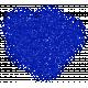 Color Basics Scattered Dots 01 Glitter Blue