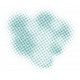 Color Basics Scattered Dots 01 Glitter Aqua