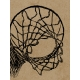 Basketball Card 3x4 Hoop Sketch