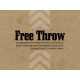 Basketball Card 4x3 Free Throw