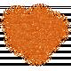 Color Basics Scattered Dots 01 Glitter Orange