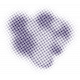 Color Basics Scattered Dots 01 Glitter Purple