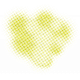 Color Basics Scattered Dots 01 Glitter Yellow