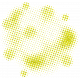 Color Basics Scattered Dots 02 Glitter Yellow