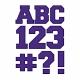 Color Basics Cardboard Alpha Purple