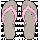 Tropics Flip Flops Tan