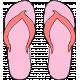 Tropics Flip Flops Pink 01