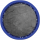 School Tag Circle Blue
