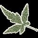 Crisp Fall Air Sticker Leaf 04