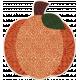 Crisp Fall Air Sticker Pumpkin