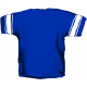 Football Jersey Back Blue