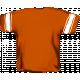 Football Jersey Back Orange