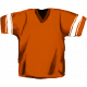 Football Jersey Orange