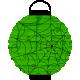 Spook Lantern Green Web