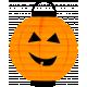 Spook Lantern Orange Pumpkin