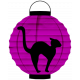 Spook Lantern Purple Cat